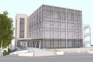 Entkernung und Revitalisierung eines Gebäudes der öffentlichen Hand